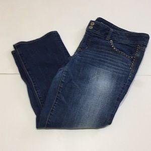 American eagle 🦅 stretch artist capri jeans